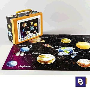 PUZZLE 130 PIEZAS FLOSS & ROCK UNIVERSO PLANETAS JIGSAW 35P2425