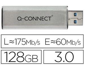 MEMORIA USB 128 GB 3.0 Q-CONNECT (LPI 0X24 € INCLUIDO)