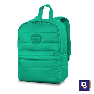 MOCHILA PEQUEÑA COOLPACK CASUAL ABBY ACOLCHADA GREEN VERDE 23322CP