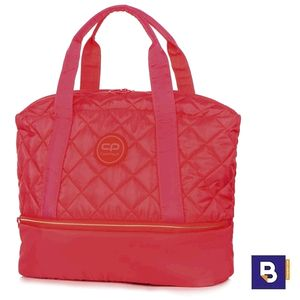 BOLSA DEPORTE ACOLCHADA COOLPACK BOLSO CASUAL LUNA CORAL TOUCH ROSA NEON 23445CP
