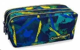 PORTATODO COOLPACK TRIPLE PRIMUS ABSTRACT YELLOW REF B60007