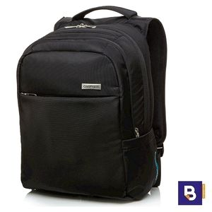 MOCHILA COOLPACK BUSINESS MIGHT BLACK NEGRA A41106