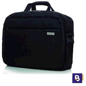 MALETIN PARA PORTATIL COOLPACK ADAPTABLE A CARRO BUSINESS RIDGE BLACK NEGRO A43106