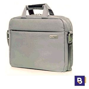 MALETIN PARA PORTATIL COOLPACK ADAPTABLE A CARRO BUSINESS LAGOON LIGHT GREY GRIS CLARO A44107