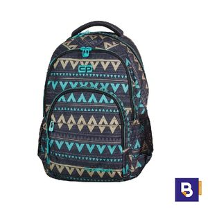 MOCHILA COOLPACK BASIC 27L EMERALD ETHNIC 69946CP