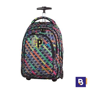 MOCHILA CARRO TARGET 34L RAINBOW STRIPES COOLPACK 77682CP