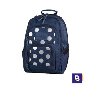 MOCHILA UNIT 26L SILVER DOTS BLUE COOLPACK 78658CP