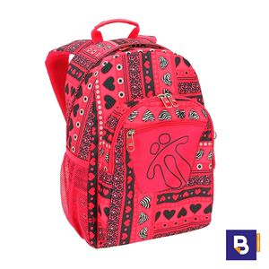 MOCHILA TOTTO ADAPTABLE A CARRO MORRAL ACUARELES MA04ECO021-1710N  0IJ