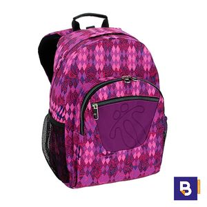 MOCHILA TOTTO ADAPTABLE A CARRO MORRAL ACUARELES MA04ECO021-1710N  6M2