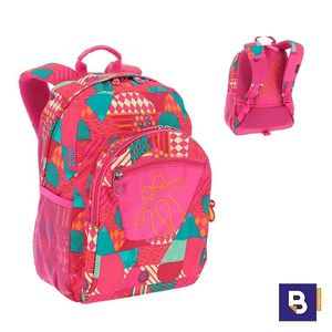 MOCHILA TOTTO ADAPTABLE A CARRO MORRAL ACUARELES MA04ECO021 1720N 1IE