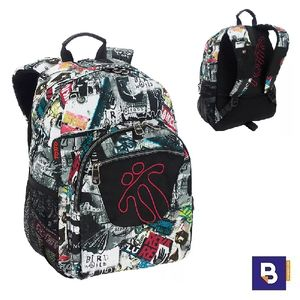 MOCHILA TOTTO ADAPTABLE A CARRO MORRAL ACUARELES MA04ECO021 1720N 4E8