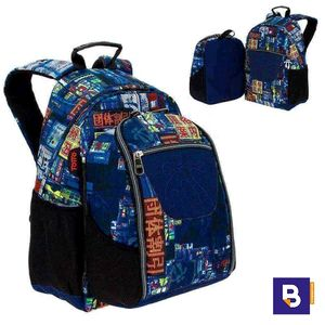 MOCHILA 2EN1 TOTTO MORRAL TABLET Y PC CARTULINA MA04ECO030 - 1810G - 6LI