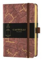 CUADERNO NOTEBOOK CASTELLI MILANO 9X14 COLLETION WABI SABI HORIZONTAL
