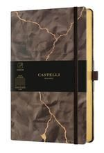CUADERNO NOTEBOOK CASTELLI MILANO COLLECTION WABI SABI HORIZONTAL
