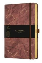 CUADERNO NOTEBOOK CASTELLI MILANO 13X21 COLLECTION WABI SABI HORIZONTAL