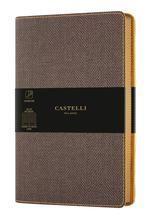 CUADERNO NOTEBOOK CASTELLI MILANO 9X14 COLLECTION HARRIS LISO