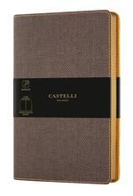CUADERNO NOTEBOOK CASTELLI MILANO 13X21 COLLECTION HARRIS LISO
