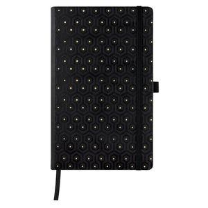 CUADERNO NOTEBOOK CASTELLI MILANO COLLECTION COPPER & GOLD HORIZONTAL