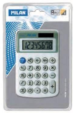 BLISTER CALCULADORA 8 DIGITOS MILAN 40918BL
