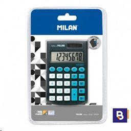 CALCULADORA BOLSILLO 8 DIGITOS MILAN POCKET NEGRA 150908BKBL