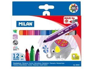 ROTULADORES MILAN MAXI 12 MOD 641