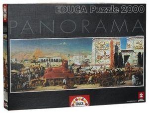 PUZZLE EDUCA 2000 PIEZAS EGYPT