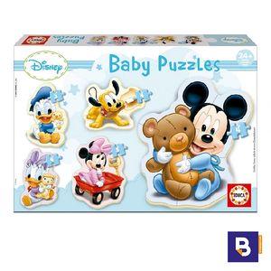 PUZZLE EDUCA BABY MICKEY SILUETA 13813