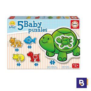 PUZZLE EDUCA 12 MESES BABBY PUZZLES ANIMALITOS 14864