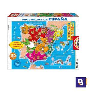 PUZZLE EDUCA BORRAS 150 PIEZAS PROVINCIAS DE ESPAÑA 14870