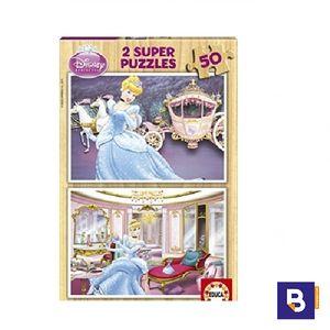 PUZZLE EDUCA MADERA 2 X 50 PIEZAS BLANCANIEVES 15286
