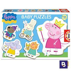 PUZZLE EDUCA BORRAS BABY PUZZLES EDUCA PEPPA PIG 15622