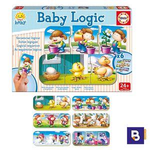 PUZZLE EDUCA BABY LOGIC 6 ENCAJABLES DE 3 PIEZAS 15860