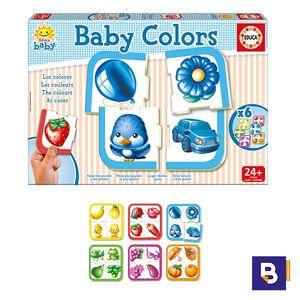 PUZZLE EDUCA BABY COLORS 24 PIEZAS 15861