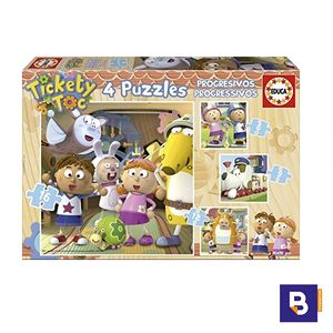 PUZZLE EDUCA PROGRESIVO TICKETY TOC 15939