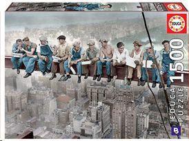 PUZZLE EDUCA BORRAS 1500 PIEZAS ALMUERZO EN NUEVA YORK 16009