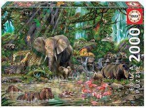 PUZZLE EDUCA 2000 PIEZAS JUNGLA AFRICANA