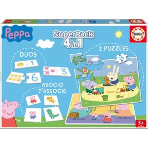 SUPERPACK EDUCA 4 EN 1 PEPPA PIG 16229