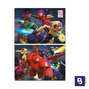 PUZZLE EDUCA 2 X 100 PIEZAS BIG HERO 6 16337