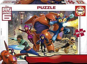 PUZZLE EDUCA 200 PIEZAS BIG HERO 6 16338