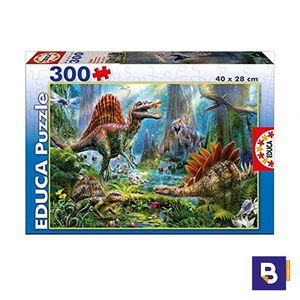 PUZZLE EDUCA 300 PIEZAS DINOSAURIOS 16366