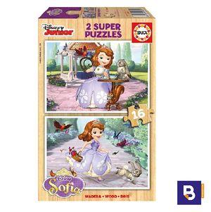 PUZZLE EDUCA 2 X 16 PIEZAS SOFIA 16369
