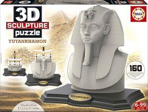 PUZZLE EDUCA 3D TUTANKHAMON SCULPTURE 16503