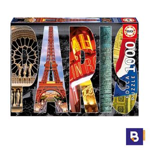 PUZZLE EDUCA 1000 PIEZAS COLLAGE DE PARIS 16757