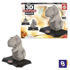 PUZZLE EDUCA T-REX 3D SCULPTURE 16967