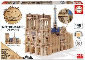PUZZLE EDUCA 3D NOTRE DAME MONUMENT 16974