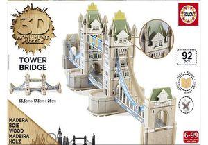 PUZZLE EDUCA 3D TOWER BRIDGE MONUMENT 16999