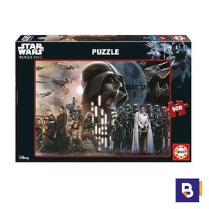 PUZZLE EDUCA 500 PIEZAS ROGUE ONE STAR WARS 17013