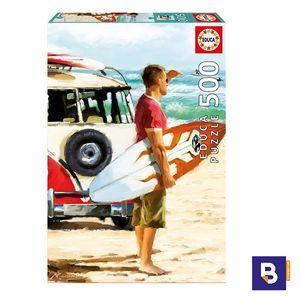 PUZZLE EDUCA 500 PIEZAS SURFISTA 17084