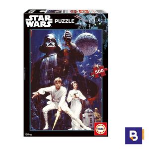 PUZZLE EDUCA 500 PIEZAS EPISODIO IV STAR WARS 17093
