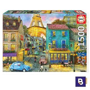 PUZZLE EDUCA BORRAS 1500 PIEZAS CALLES DE PARIS 17122
